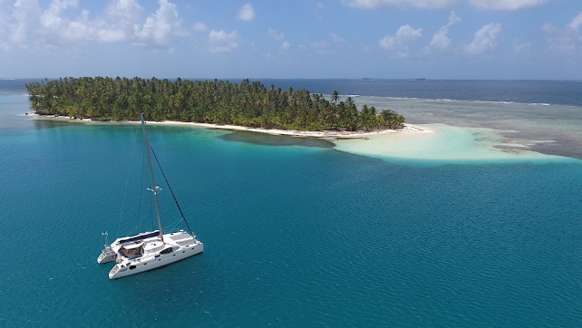 Sailing Yacht San Blas Islands