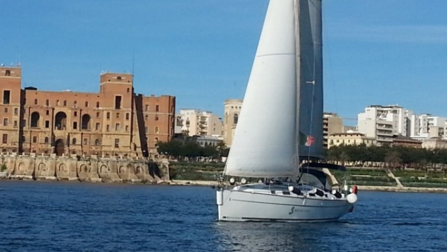 Excursion on sail boat in Puglia