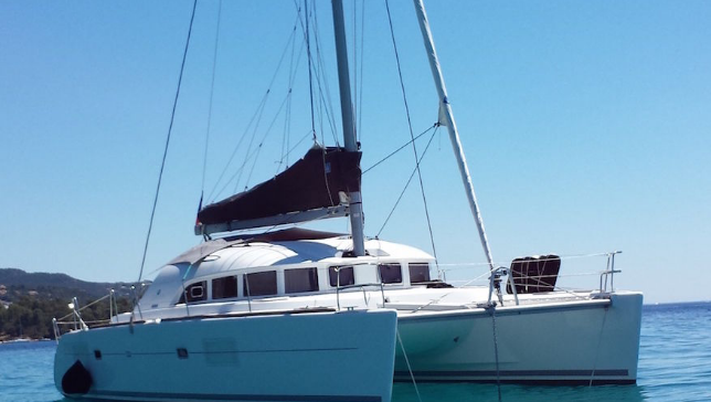 Catamaran Rental with  skipper in Ibiza