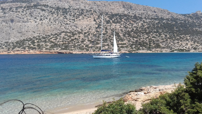 Sailing the Dodecanese issland - Rhodes