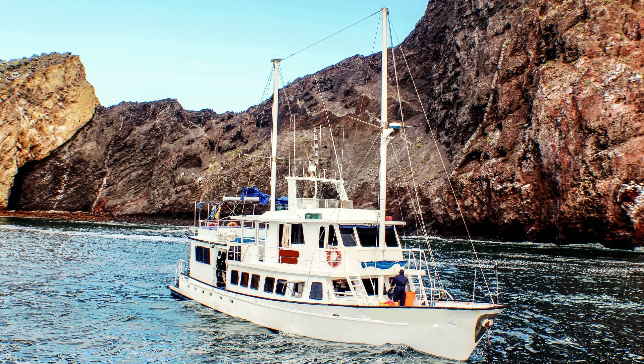 Spacious Yacht to sleep in Galapagos Islands