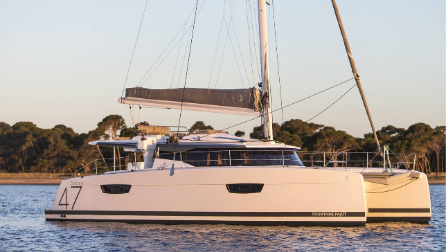 Luxury catamaran trip around the Balearic Islands