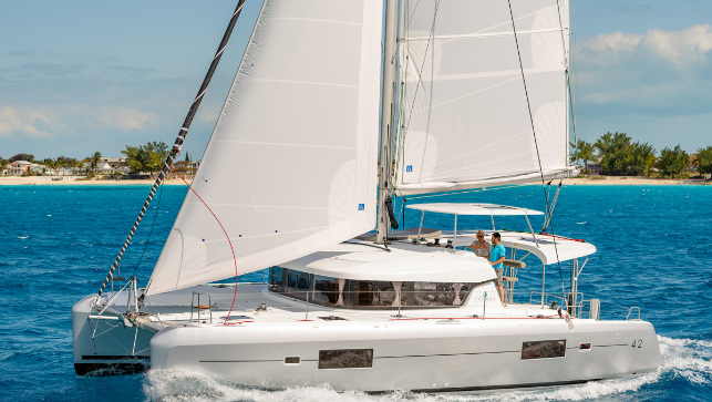 A tropical trip to Puerto Rico, sail in paradise on a sailboat