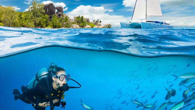 Sailing and Diving into the Blue Amalfi Coast