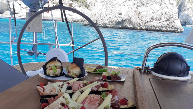 Sail and Taste. A sailing cruise to the discovery of the gastronomic delights in Amalfi Coast